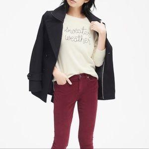 Banana Republic Merino Wool Sweater Weather Sz XL
